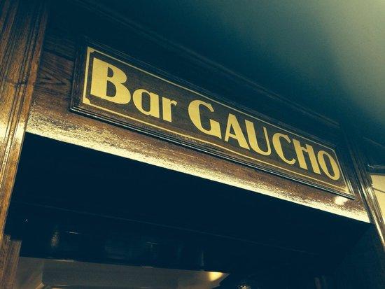 Bar Gaucho: Un lugar para no perderse!!!!