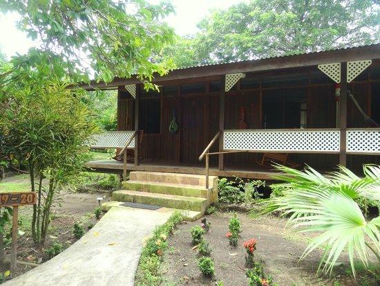 Mawamba Lodge: entrée chambre