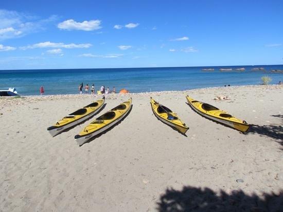 Кардедю, Италия: le canoe