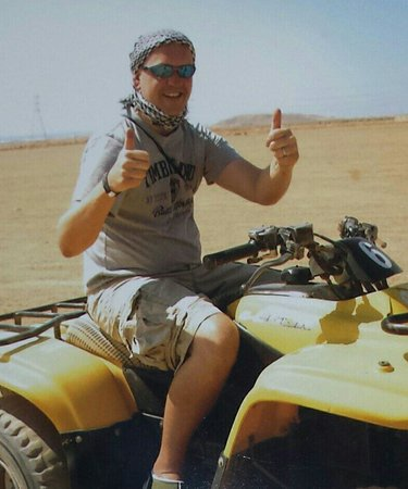 Sharm Vacations Excursion - Day Tours : Quad biking