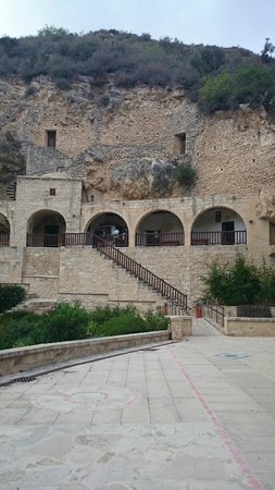Monastère Ayios Neophytos : Hermatage