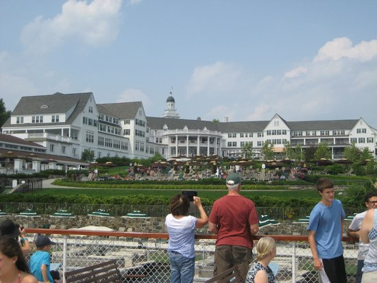 The Sagamore Resort: View from the Morgan Cruise of the hotel.