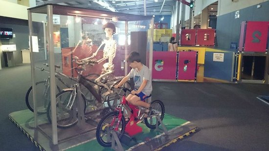 Snibston Discovery Museum and Country Park: Bike it!