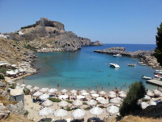 Agios Pavlos Beach (Saint Paul): la baia