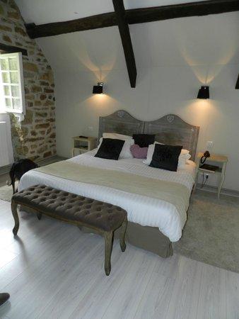 Les Moulins du Duc : Chambre romantique n°3
