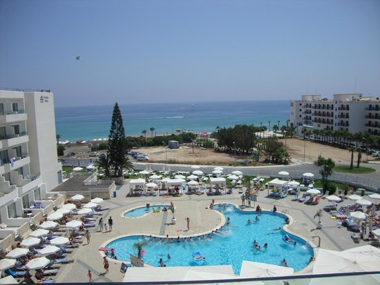 Odessa Beach Hotel: View from room 411!