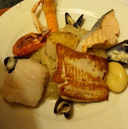 Taverne de Maitre Kanter: рыбное ассорти