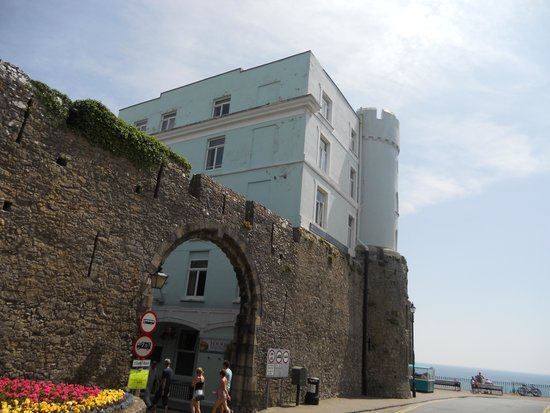 The Imperial Tenby Hotel: Hotel location (into Town Walls)