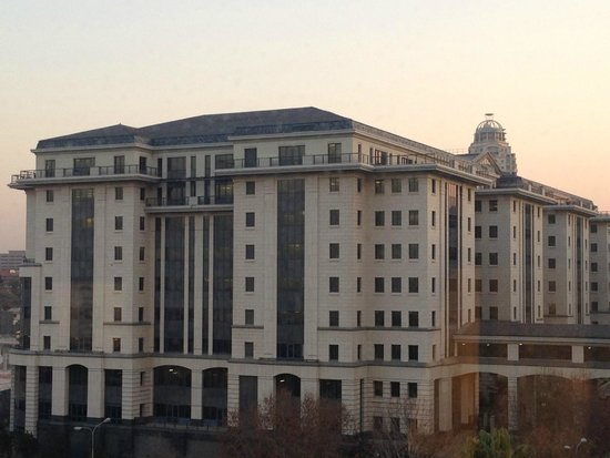 Hilton Sandton: view from room suite