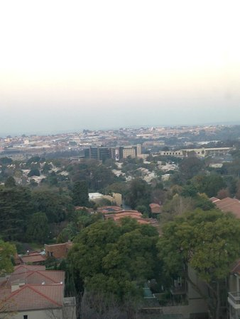 Hilton Sandton: view from lounge