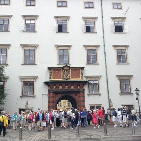 Imperial Treasury of Vienna: entrance