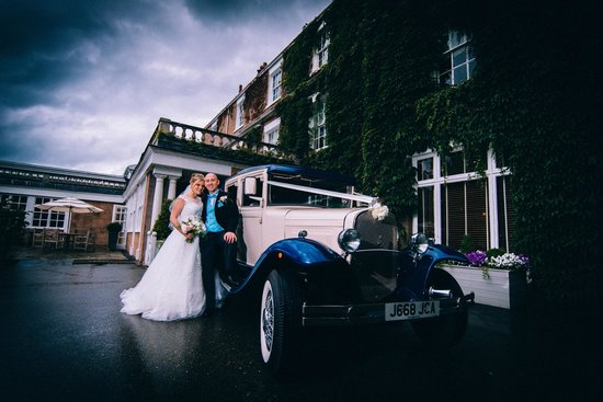 Rowton Hall Hotel: Front of hotel (David Paul Photography)