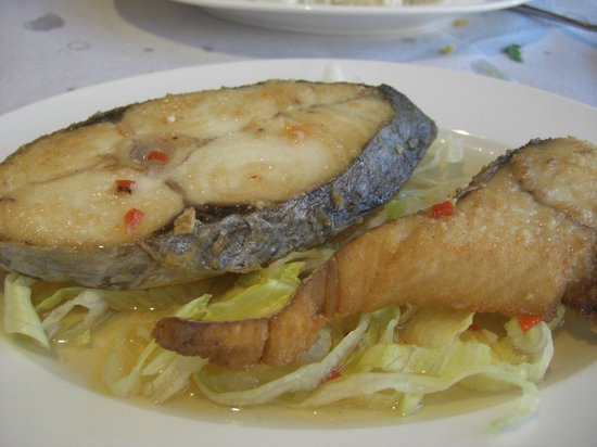 V-Namese Restaurant: King Fish in Chilly fish sauce