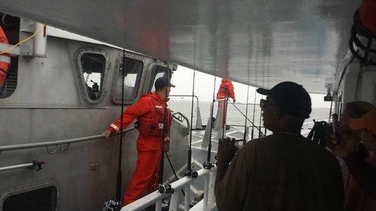 Oregon Inlet Fishing Center: Coast Guard