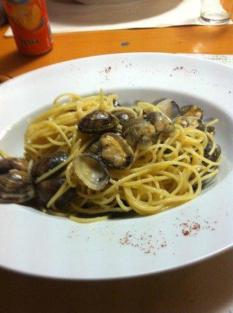 Al Giardinetto : spaghetti alle vongole