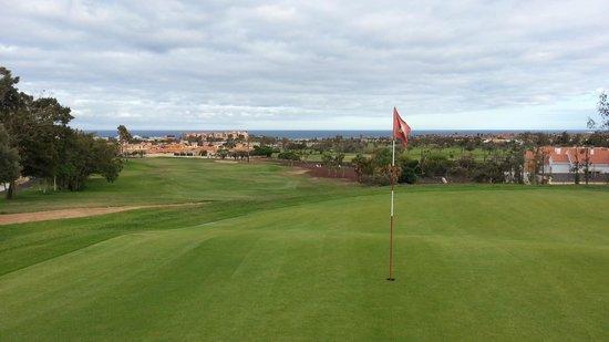 Fuerteventura Golf Club: 17th green - outstanding view