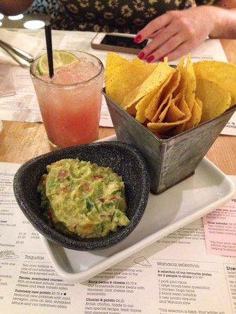 Wahaca Covent Garden: Best guacamole