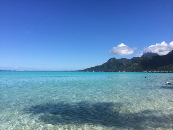 Temae Beach : Most beautiful beach on the island!