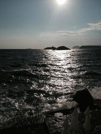 Hotel Dubrovnik Palace : zee