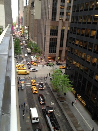 Cassa Hotel 45th Street New York: view from 10th floor balcony