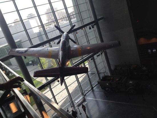 National World War II Museum: Second level Boeing building