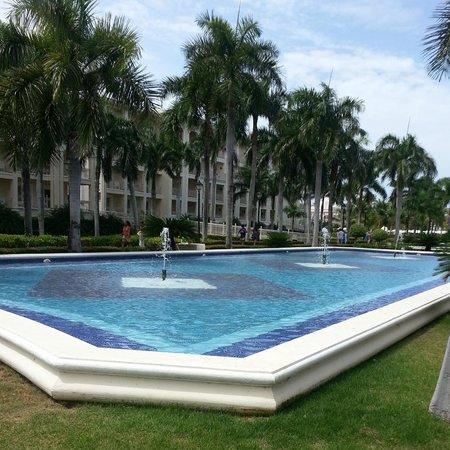 Hotel Riu Palace Punta Cana: Fountain