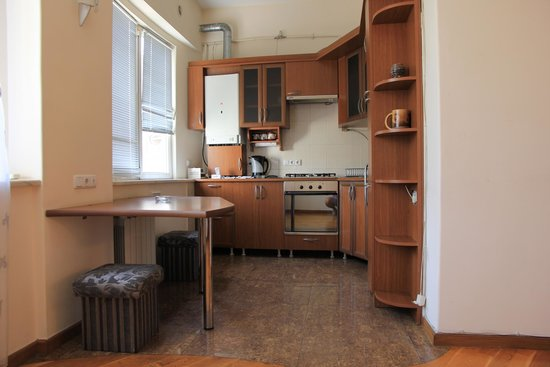 Yerevan Hostel: Kitchen