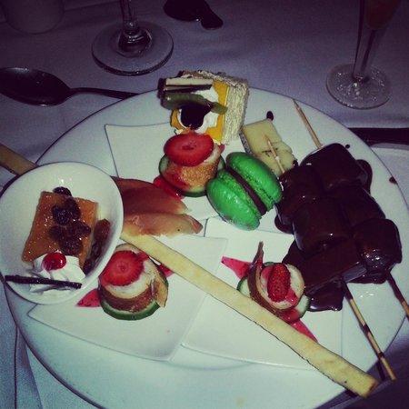 Hotel Riu Palace Punta Cana: Buffet food