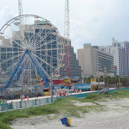 Boardwalk Amusement Area and Pier : Amusement area