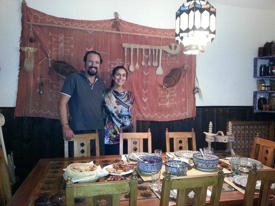 Dar KamalChaoui : Salle à manger pittoresque