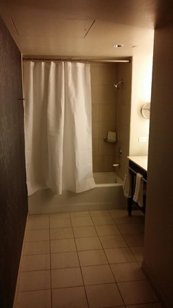 "W Chicago - City Center: Bathroom in ""Fabulous"" room"