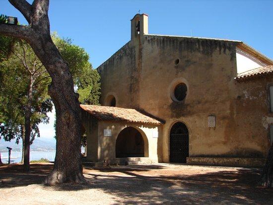 Phare de la Garoupe : Chapelle de la Garoupe