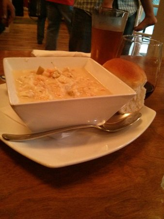 The Lobster Pound And Moore: seafood chowder
