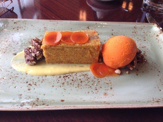 Four Seasons Hotel Chicago: Carrots cake