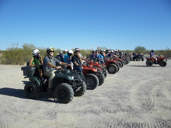 Arizona ATV Adventures: All ready to go