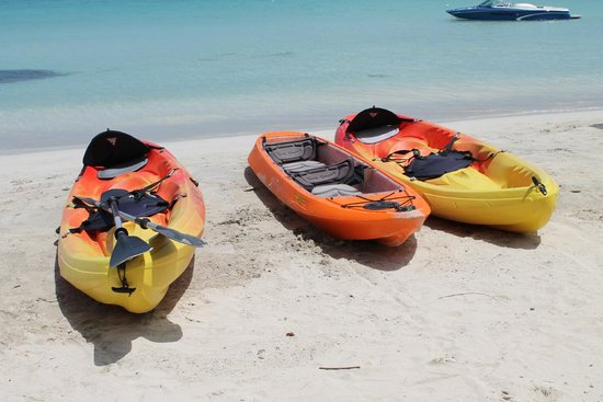 Couples Negril : clear bottom kayaks