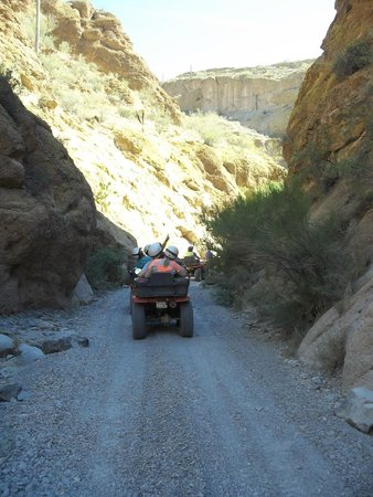 Arizona ATV Adventures: Box Canyon Run