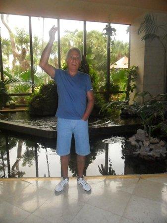 Hotel Meliá Marina Varadero: ESTA FOTO ES DE LA FUENTE QUE ESTA EN EL LOBI DEL SOL PALMERAS VARADERO,LO MAS