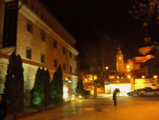 Hotel Monasterio Benedictino: Fachada del hotel.