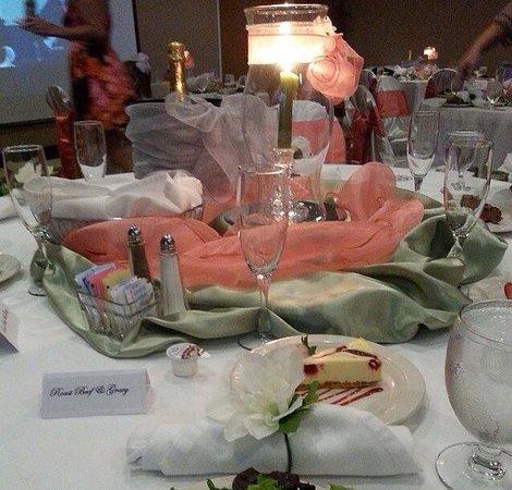 Hilton Garden Inn Atlanta/Peachtree: Lovely table setting