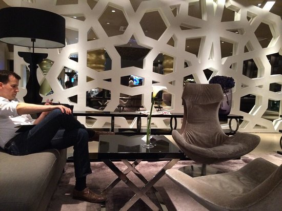 Falkensteiner Hotel Belgrade : Lounge/bar area