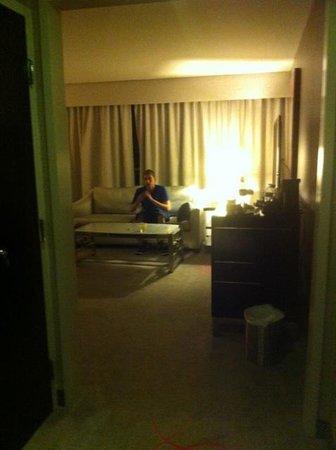 Borgata Hotel Casino & Spa: View Upon Entering Our Room