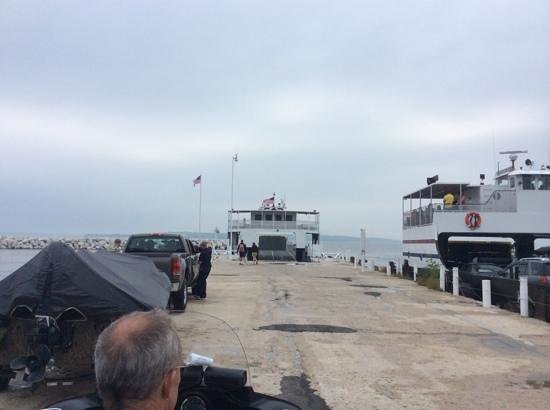 Washington Island Ferry Line: ready to board