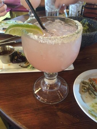 Barking Frog Grille: Prickly Pear Margarita
