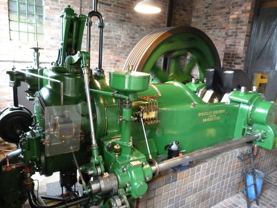 Kelham Island Museum: Crossley Brothers