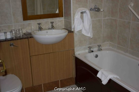 Springhill Court Conference, Leisure & Spa Hotel : bathroom