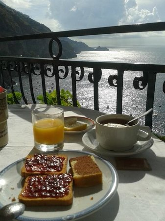 Hotel La Perla: colazione