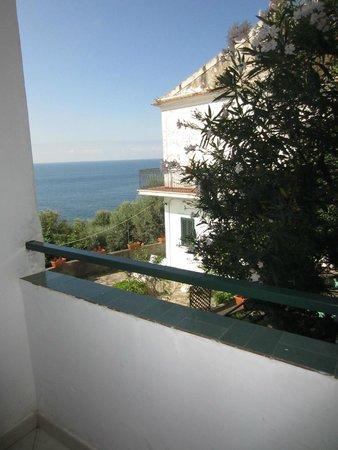Hotel La Perla: Vista dalla camera