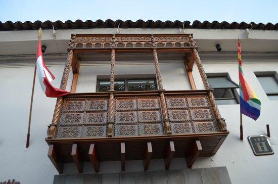 San Agustin International Hotel : FRENTE DEL HOTEL