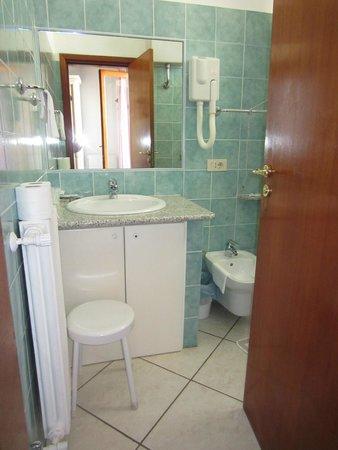 Hotel La Perla: Il bagno